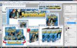 Thumbnail Graphic Design Masterclass Minisite Template PSD graphics