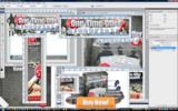 Thumbnail One Time Offer Blueprints Minisite Template PSD graphics