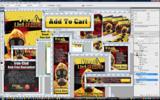 Thumbnail Viral List Breeder Viral Marketing Minisite Template PSD graphics