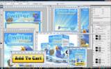 Thumbnail Twitter Magic Traffic Minisite Template PSD graphics