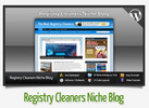 Thumbnail Registry Cleaners Niche Blog With Instructional Videos