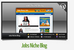 Thumbnail Jobs Niche Blog With Instructional Videos