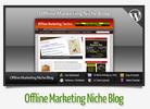 Thumbnail Offline Marketing Niche Blog With Instructional Videos