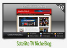 Thumbnail Satellite TV Niche Blog With Instructional Videos