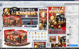 Thumbnail Newbie Knockout Minisite Web Templates PSD Graphics