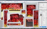 Thumbnail Email Marketing Demon Minisite Web Templates PSD Graphics