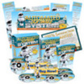 Thumbnail Automated Software System Minisite Web Template MRR