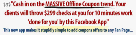 Thumbnail Facebook Coupon App PLR Video Ebook Script