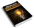 Thumbnail Online Cash Idea Vault PLR Ebook