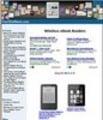 Thumbnail EReaders Website Template PLR