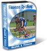 Thumbnail Fitness Cycling Website Template PLR Pack