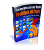 Thumbnail Most Effective and Useful Blog Widgets and Plugins MRR eBook