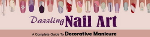 Thumbnail Manicure Nails Website Template Plr Pack