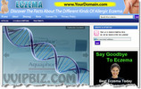 Thumbnail Eczema Website PLR - WordPress Health Niche Blog