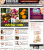 Thumbnail Skin Care Website PLR - Turnkey WordPress Blogs