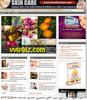 Thumbnail Skin Care Website PLR - Turnkey WordPress Blogs