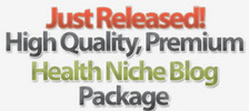 Thumbnail 25 Turnkey Wordpress Health Niche Blogs PLR MRR