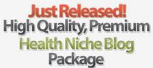 Thumbnail 25 Turnkey Wordpress Health Niche Blogs PLR MRR