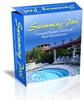 Thumbnail Swimming Pool Website Template Plr Pack