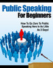 Thumbnail Public Speaking For Beginners PLR Ebook