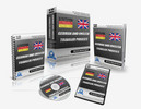 Thumbnail German / English Traveler Phrases PLR Audio, Video Course