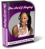 Thumbnail Singing Website Template Plr Pack -  Vocal Training