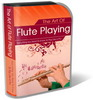 Thumbnail Flute Playing Website Template Plr Pack