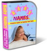 Thumbnail Baby Names Website Template Plr Pack