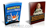 Thumbnail Massive Article Profits with Master Resale Rights