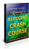 Thumbnail Blogging Crash Course Unrestricted PLR Ebook