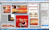 Thumbnail Martial Arts Niche Website Template - Self Defense PSD Graphics