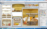 Thumbnail Woodworking Niche Website Template PSD Graphics