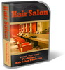 Thumbnail Hair Salon Website Template Plr Pack