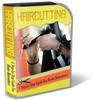 Thumbnail Hair Cutting Website Template Plr Pack
