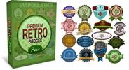 Thumbnail Premium Retro Badges - Premium PSD Templates Pack