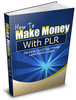 Thumbnail How To Make Money With PLR Resell Rights /Giveaway Rights