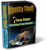 Thumbnail Identity Theft Website Template Plr Pack