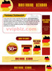 Thumbnail Mastering German Website Template Plr Pack