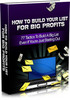 Thumbnail How to Build Your List for Big Profits MRR/ Giveaway Rights