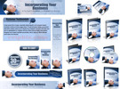 Thumbnail Incorporating Business Website Template Plr Pack