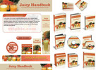 Thumbnail Fruit Juice Recipes Website Template Plr Pack