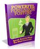 Thumbnail Powerful Persuasion Posture - Speak And Get What You Want Correctly MRR Ebook