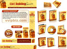 Thumbnail Email List Building Website Template Plr Pack