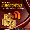 Thumbnail Instant Ways to Monetize Your Blog MRR / Giveaway Rights
