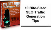 Thumbnail 110 Bite Sized Traffic Super Tips MRR/ Giveaway Rights