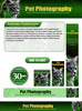 Thumbnail Pet Photography Website Template PSD PLR Pack