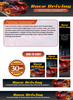 Thumbnail Race Driving Website Template Plr Pack