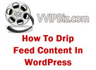 Thumbnail How To Drip Feed Content In WordPress Unrestricted PLR Video