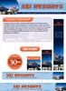 Thumbnail Ski Resorts Website Template Plr Pack