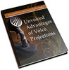 Thumbnail Unvoiced Advantages of Voice projections MRR eBook & Audio